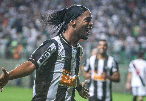 Ronaldinho ist mit Atletico Mineiro erfolgreich