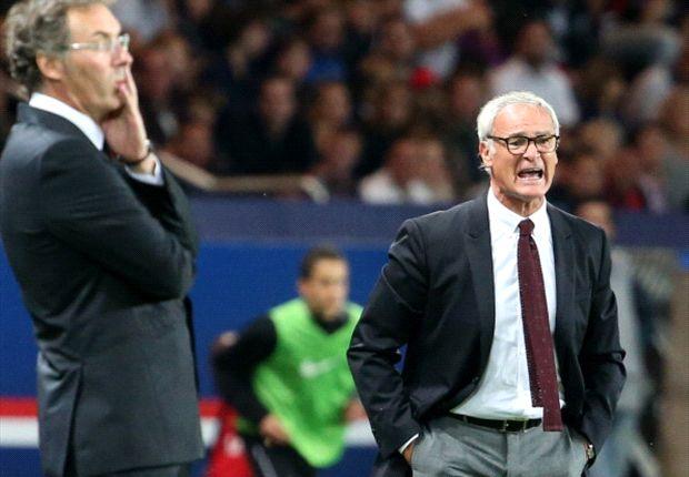 Ranieri: PSG draw will help Monaco develop