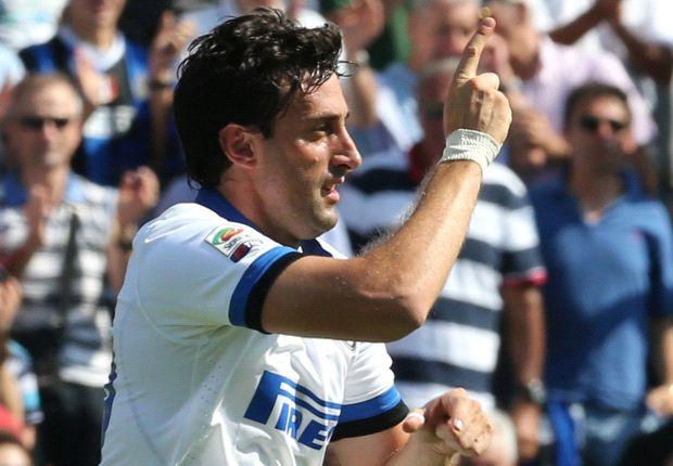 Diego Milito ist wieder zurück und will auch an diesem Spieltag wieder treffen