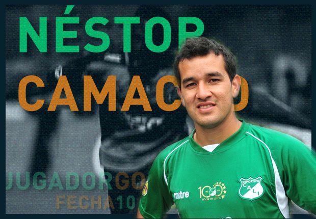 Néstor Camacho se lleva el Jugador Goal de la Fecha 10