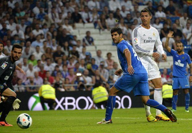 Ronaldo ya metió el taco para convertir su gol 208.