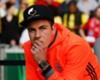 Mario Götze musste im DFB-Pokal-Finale wegen eines Rippenbruchs zuschauen