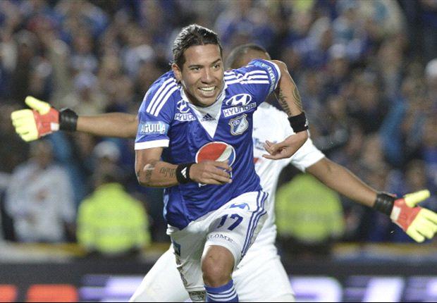 Dayro Moreno le devolvió el azul a Millonarios, que empató con Itagüí