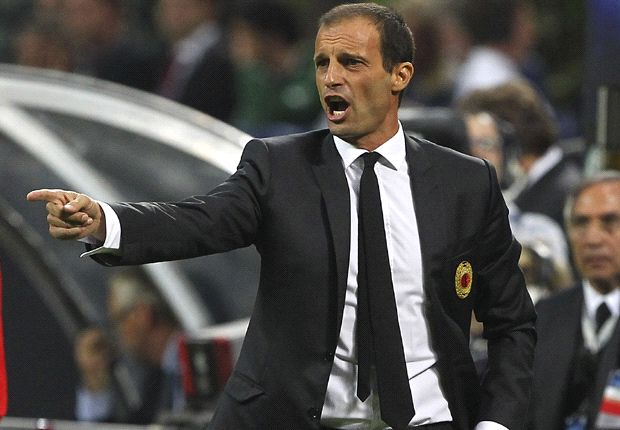 Milan needed to beat Sampdoria, says Allegri