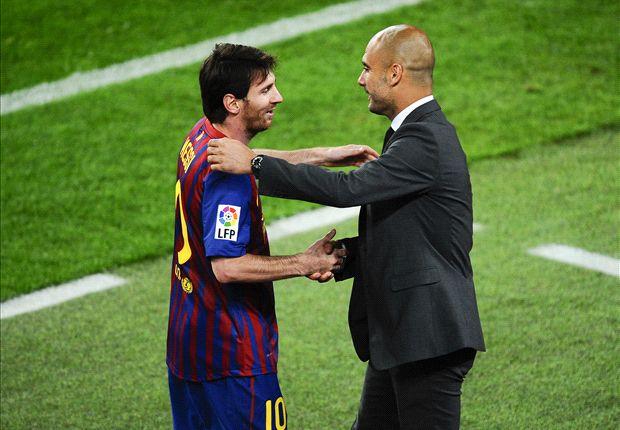 Messi y Guardiola, en un partido de Liga en 2012. Según Backe, discutieron en 2009.