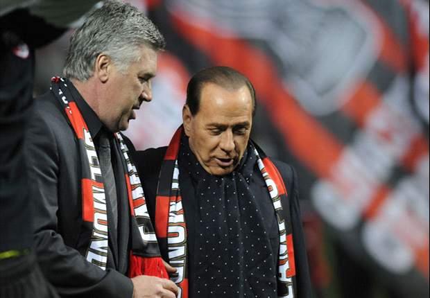 Carlo Ancelotti's Fault For Milan's Scudetto Failure - Silvio Berlusconi