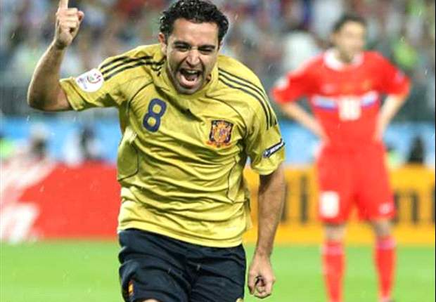 Euro 2008 Legends: Xavi Hernandez, Spain