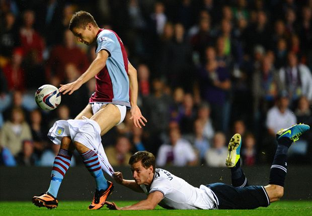 Aston Villa 0-4 Tottenham: Chadli bags first Spurs strike as visitors run riot