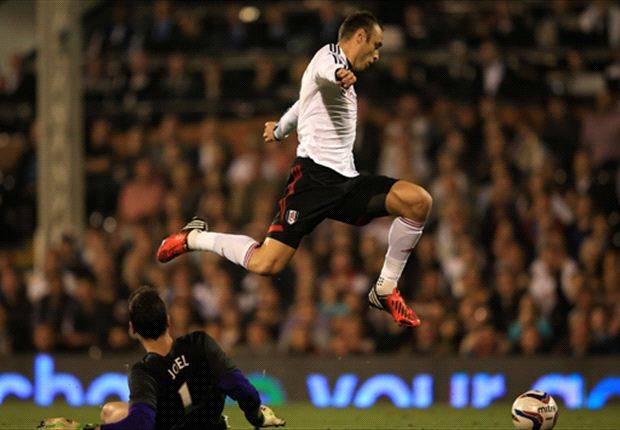 Fulham 2-1 Everton: Berbatov & Bent complete second-half turnaround