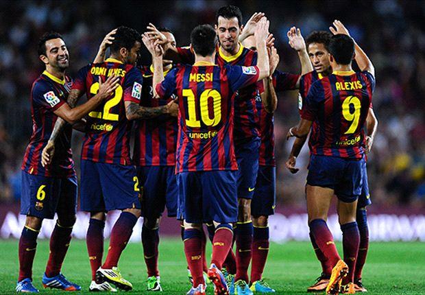 Barcelona aplastó a Real Sociedad y alternó vértigo y posesión como nunca antes en la era Martino.