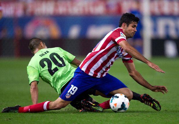 En el partido correspondiente a la primera rueda, Atleti se impuso 2-1.