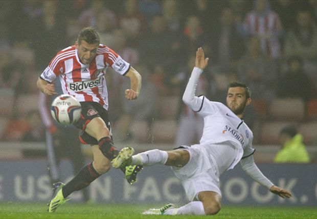 Sunderland 2-0 Peterborough United: Giaccherini scores for managerless hosts