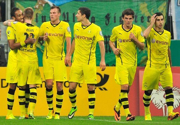 REVIEW DFB-Pokal: Borussia Dortmund Kerja Keras Tundukkan TSV 1860 Munich