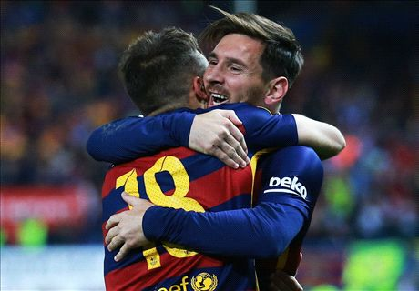 Messi magic pulls Barcelona through