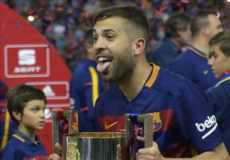Alba & Neymar seal double for Barca