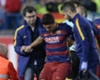 Barca unsure on Suarez injury