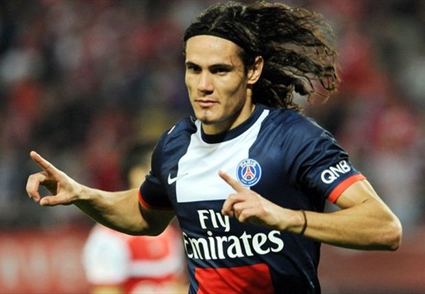 Cavani a marqué l'unique but du match
