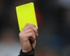 Yellow card referee