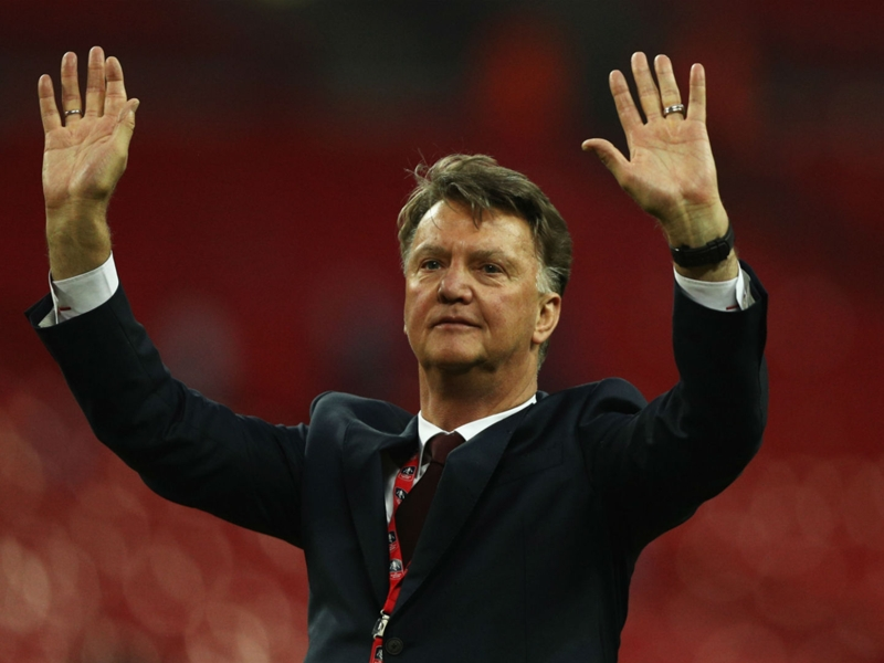 Van Gaal gives cryptic response after being asked if he'd take Netherlands job