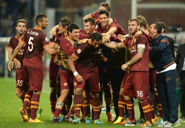 Roma alleen aan kop door misstap Napoli