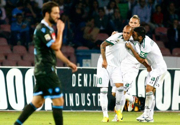 REVIEW Serie A Italia: Sassuolo Hentikan Napoli