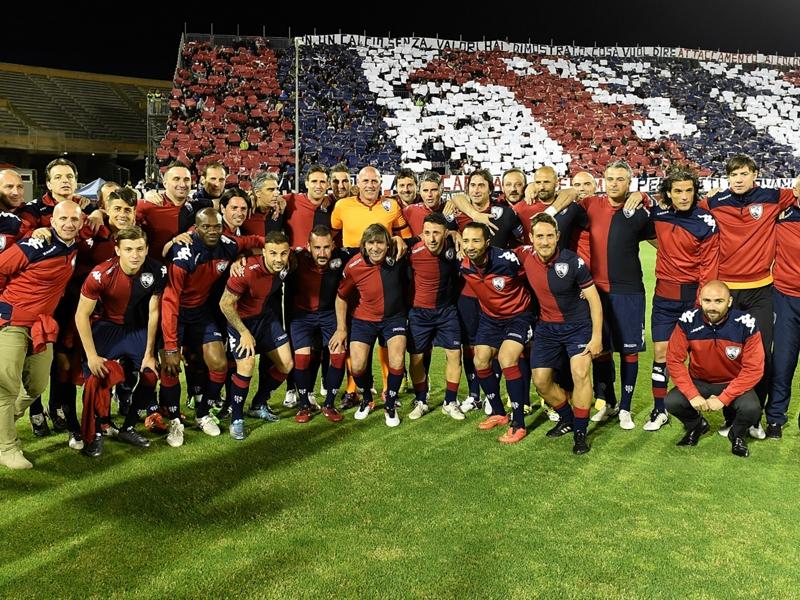 #ContiDay a Cagliari: festa, vecchie glorie rossoblu e tanta emozione