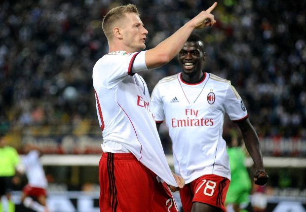 Milan never give up - Abate
