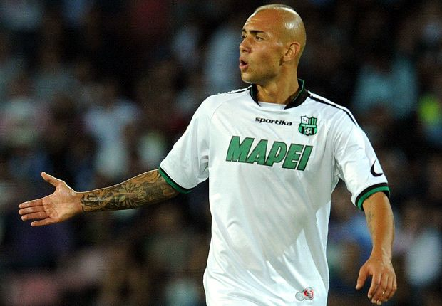 Simone Zaza è il miglior marcatore del Sassuolo, con due reti all'attivo finora.