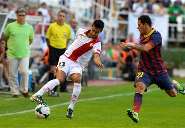 El Rayo la tuvo más, pero el Barcelona lo goleó