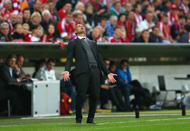 Pep sah Probleme bei glanzlosem Bayernsieg