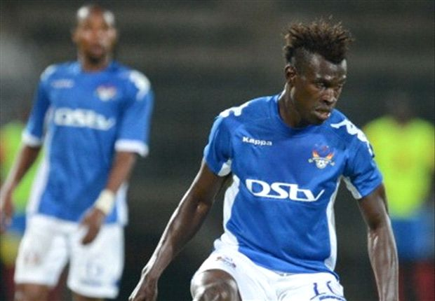 Edwin Gyimah of SuperSport United far from returning to action