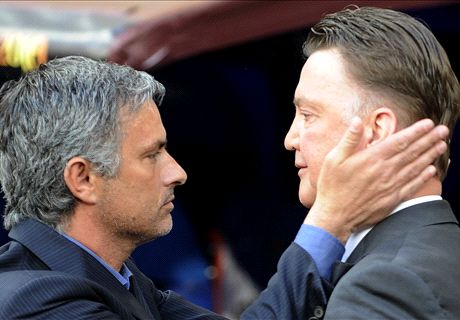 How Mou undermined Van Gaal's reign
