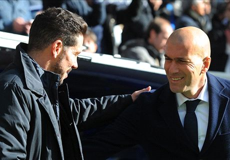Zidane vs Simeone: A history of derbies