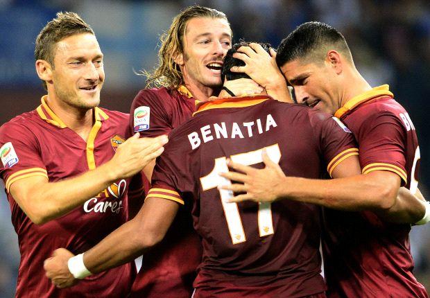 Roma, satu-satunya tim Serie A yang meraih lima kemenangan beruntun di musim ini