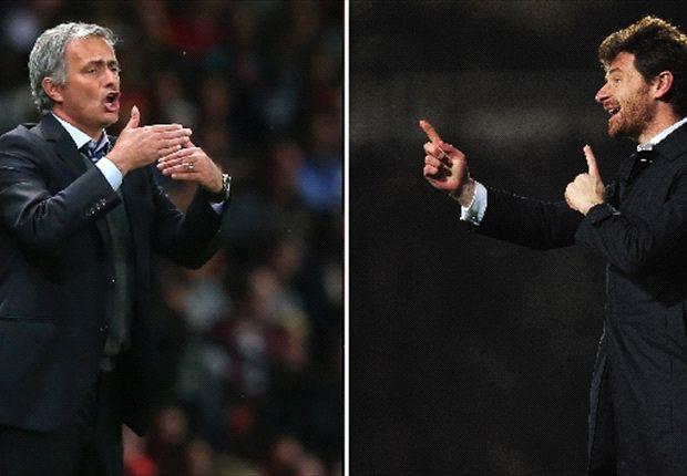 Conocidos desde hace tiempo, ahora Villas-Boas y Mourinho se enfrentan por un importante partido.