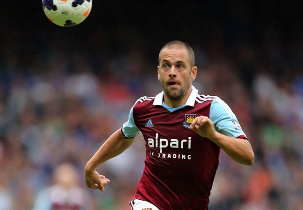 Joe Cole ruled out of West Ham trip to Hull City Tigers