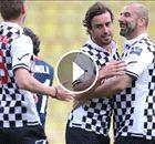 VÍDEO   El golazo que marcó Fernando Alonso de falta directa