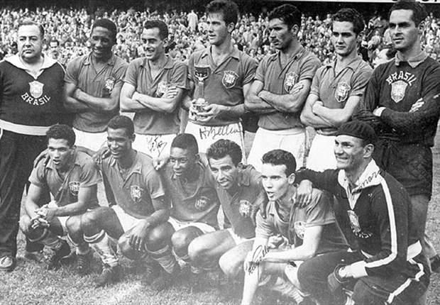 Campeões de 1958 serão homenageados antes do amistosos entre Brasil x África do Sul