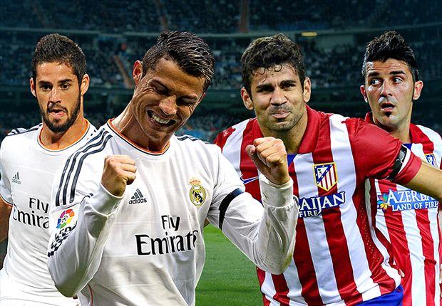 In der Primera Division kommt es zum Spitzenspiel zwischen Atletico und Real Madrid