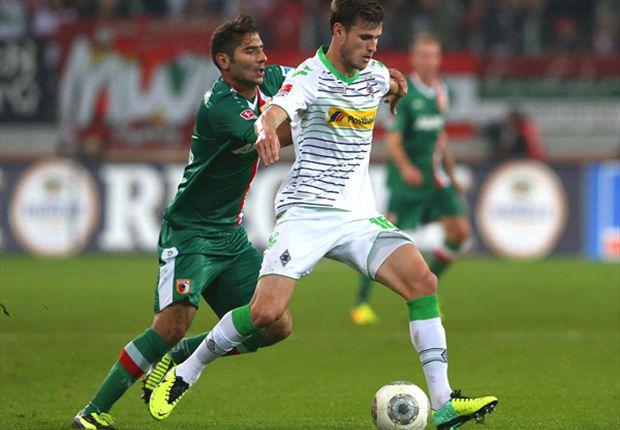Punkteteilung im Freitagabendspiel zwischen Gladbach und Augsburg