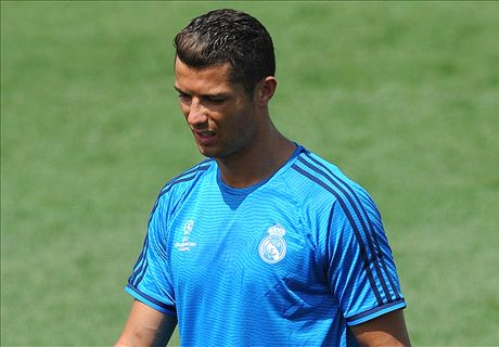 Ronaldo shakes off training injury