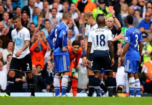 Tottenham 1-1 Chelsea: Torres red mars Terry-led comeback