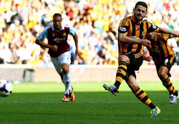 Hull City 1-0 West Ham: Brady penalty enough as Allardyce's men draw blank again