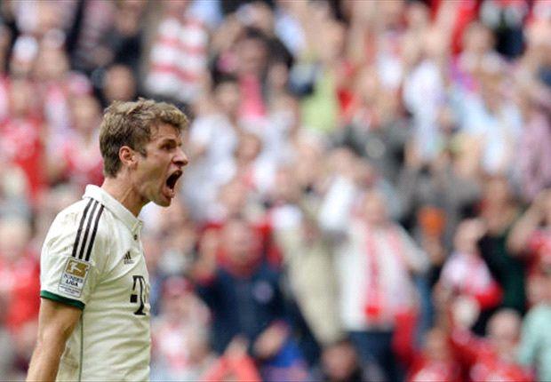 Bayern Munich 1-0 Wolfsburg: Muller edges out die Wolfe