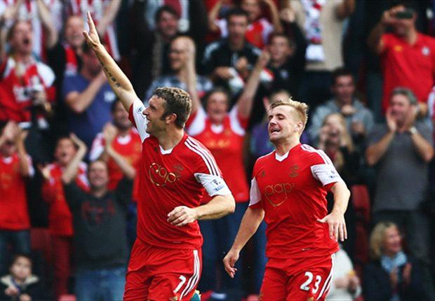 Southampton 2-0 Crystal Palace: Osvaldo & Lambert seal victory