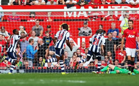 Saido Berahino Manchester United West Bromwich Albion Premier League