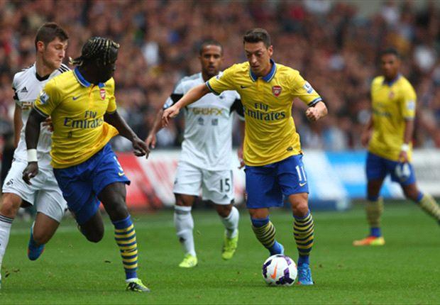 'He is Arsenal's missing link' - Bergkamp hails difference maker Ozil