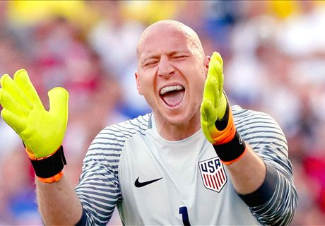 Guzan eager for Copa America glory