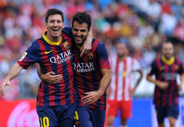 Fabregas fired up to fill Messi void