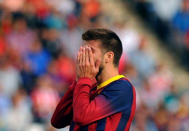 Gérard Piqué n'a pas apprécié la gestion du cas Valdés.